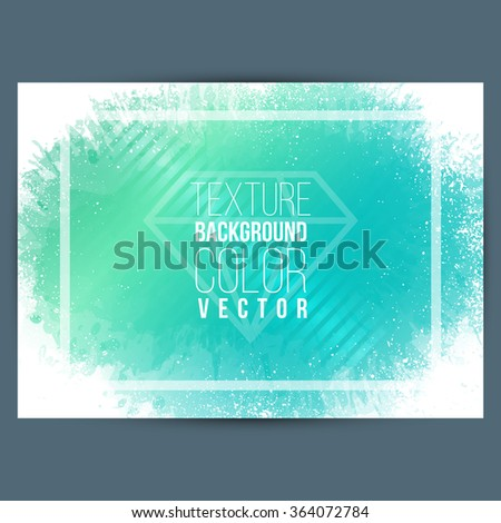 Background color spots. Suitable for background of posters, slides, leaflets, backdrops, banners and covers. Vector - stock vector