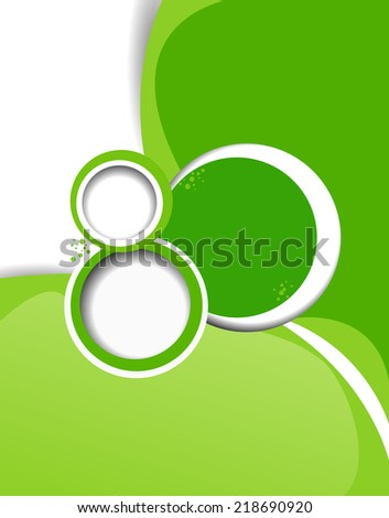 Background concept design. Abstract vector illustration.