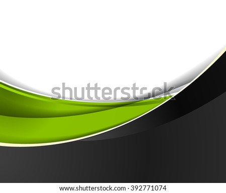 Background concept design for brochure or flyer, abstract vector illustration - stock vector