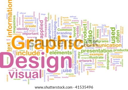 Background concept illustration of visual graphic design