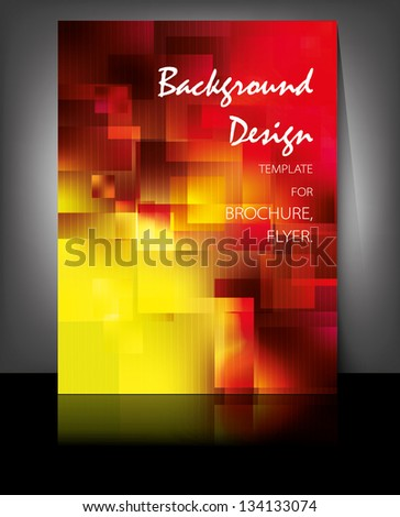 Background design for websites, brochures, presentations - stock vector
