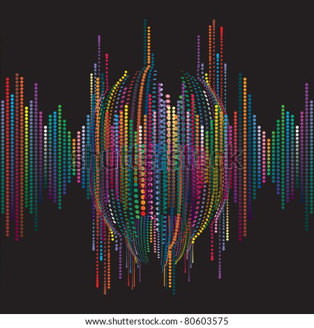 Background for creation the elements of the polygraph or web design