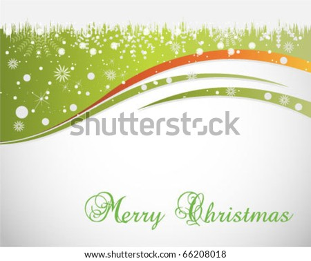 background for new year or christmas - stock vector