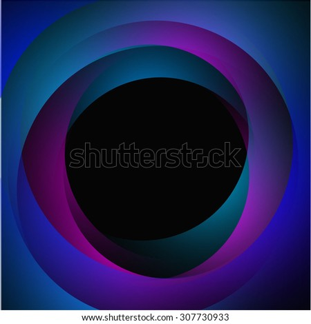 background for posters and postcards with the terms and shadows, purple, pink, green