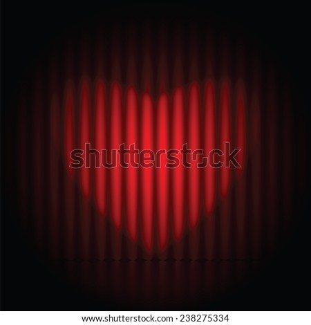 Background for Valentine's Day - stock vector