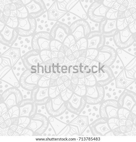 Background wedding invitation card henna mehndi stock vector background for wedding invitation card with henna mehndi floral elements vector illustration white monochrome stopboris Choice Image