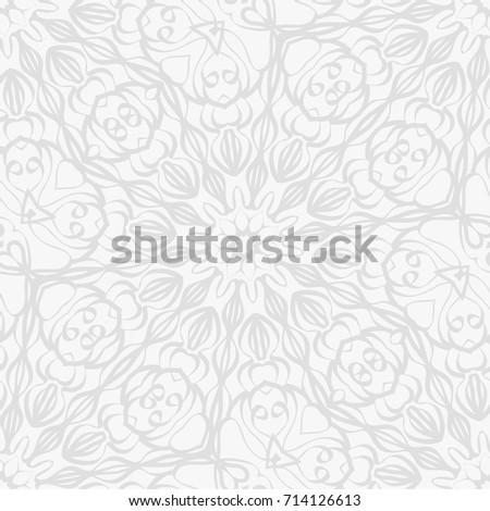 Background wedding invitation card henna mehndi stock vector hd background for wedding invitation card with henna mehndi floral elements vector illustration white monochrome stopboris Images