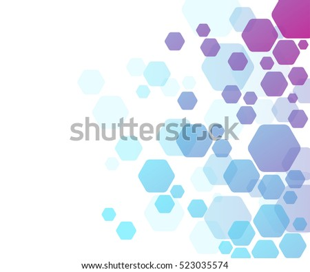 Background Colorful Geometrical Figures Simple Elements Stock ...