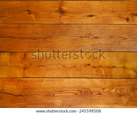 Background from oak boards - stock vector