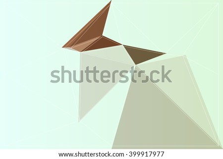 background geometry backdrop colorful