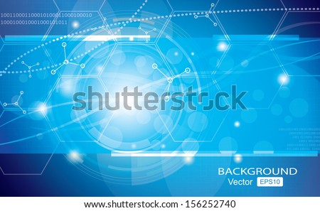 Background graphics, medical illustrations vector - stock vector