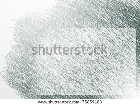 background. Hand-drawn. - stock vector