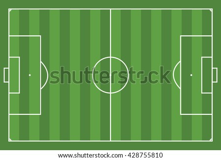 Background illustration of a soccer field