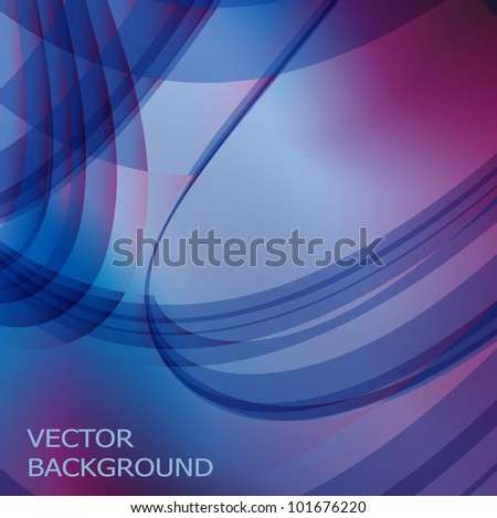 Background in blue and purple vector