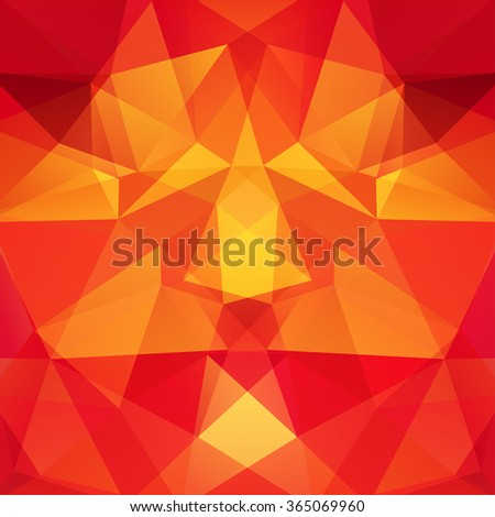 Background made of triangles.  Square composition with geometric shapes. Eps 10 - stock vector