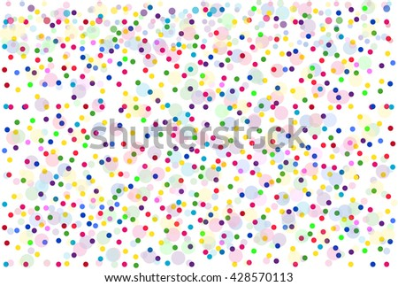 Background of colorful dots.