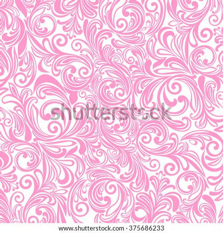 Background of flowers. Vector illustration.