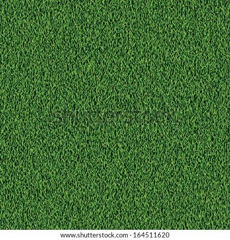 Background of fresh green grass texture. Not seamless pattern. - stock vector