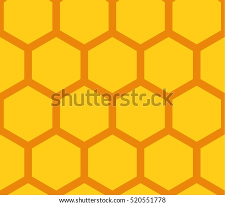 Background of honeycomb. Seamless.