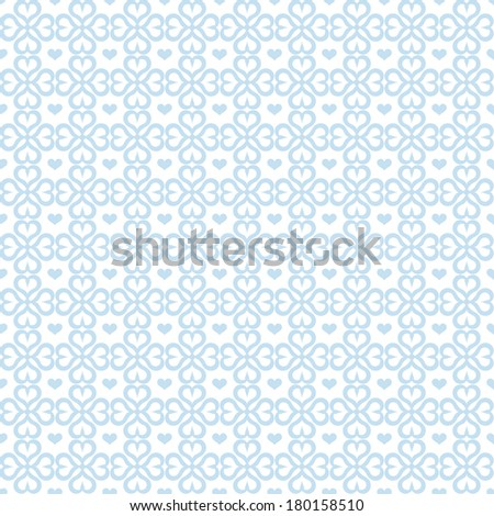 Background of seamless heart pattern