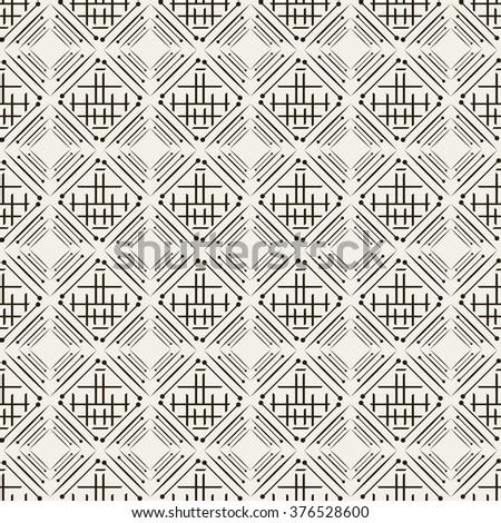 Background pattern. Asian style, black and white - stock vector