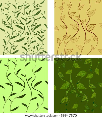 background pattern leaves