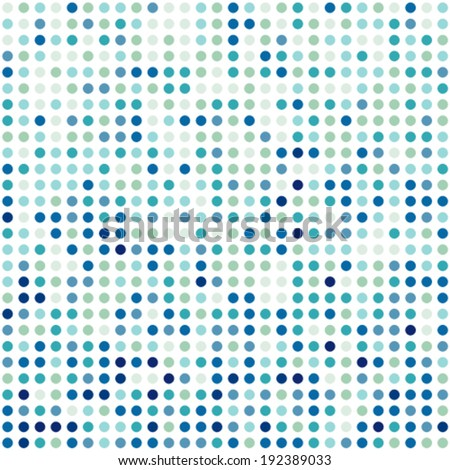 Background pattern made of colorful circles. Seamless design.