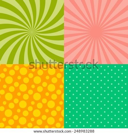 background pattern theme vector art illustration - stock vector