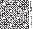 Background seamless celtic pattern - stock vector