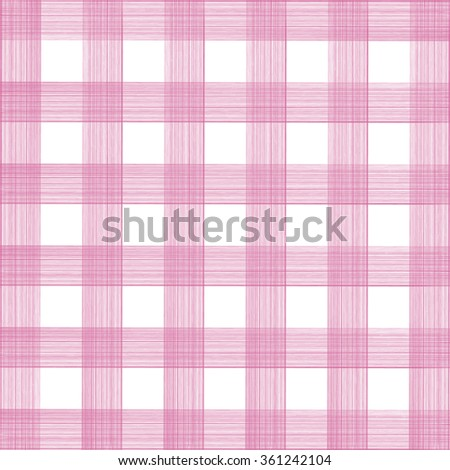 Background texture of pink stripes. Vertical, horizontal. Cell. Napkin. Abstract