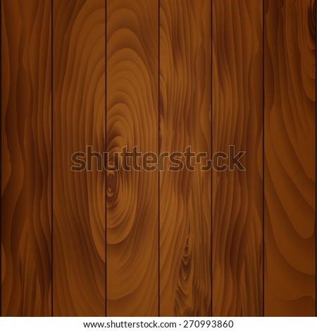 Background texture of wood (varnished boards) - stock vector