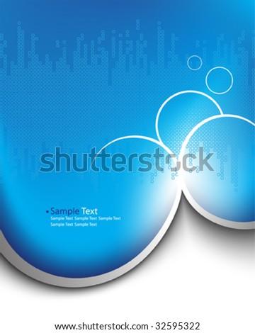 background vector design - stock vector