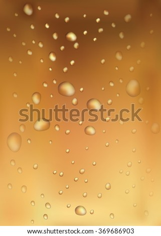 Background with drops for your design