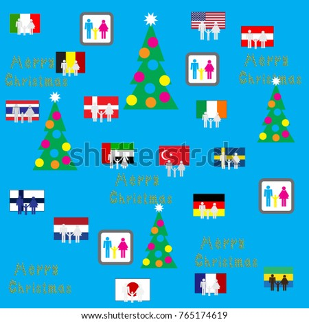 Background flags austria germany united states stock vector background with flags austria germany the united states of america finland france reheart Image collections
