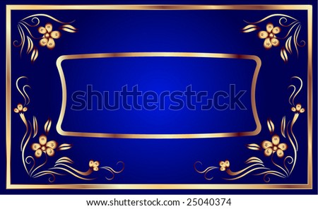 Background with ornament for various design artwork