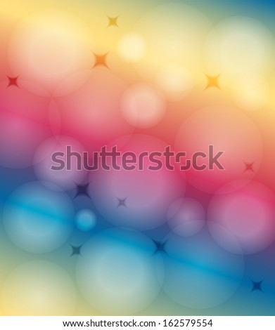 Background with place for text - stock vector
