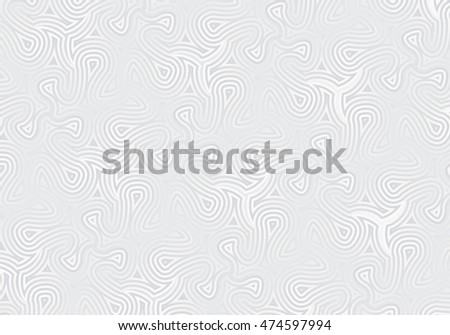 Background with silver pattern.Vector illustration.