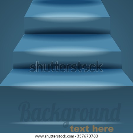 Background with stairs