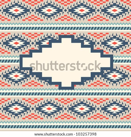 Background with trendy texture - stock vector