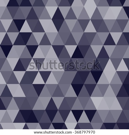 Background with triangles. Vector