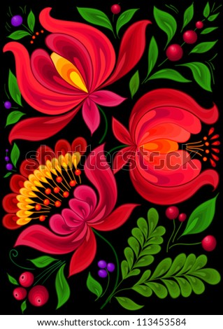 backgrounds flower,pattern floral - stock vector