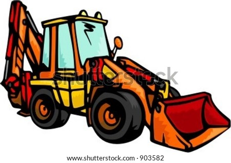 Cat Backhoe Clipart Images & Pictures - Becuo