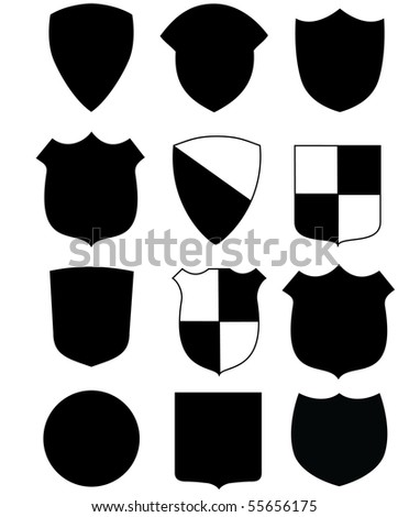 badge - stock vector
