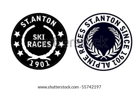badge - stock vector