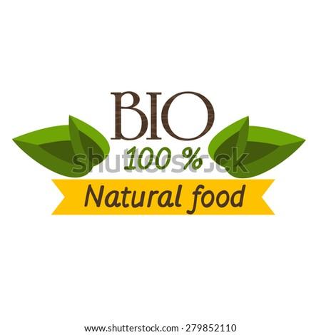100 Natural Vector Logo Design Stock Vector 524595427
