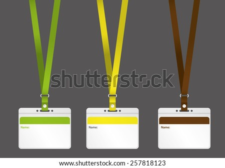 badge templates Vector Illustration for branding