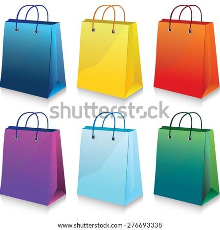 bag - stock vector