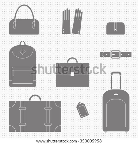 bag and accessories Icons