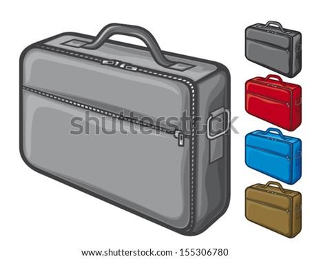 bag for laptop (notebook bag) - stock vector