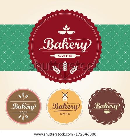 Bakery set vector sixty seven - stock vector